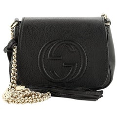 Gucci Soho Chain Crossbody Bag Leather Small