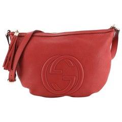 Gucci Soho Messenger Bag Leather Medium