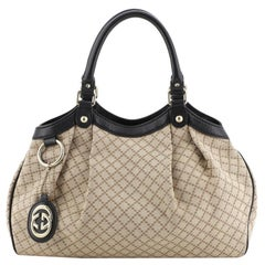 Gucci Sukey Tote Diamante Canvas Medium