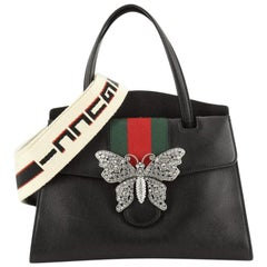 Gucci Totem Top Handle Bag Leather Medium