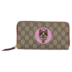 Gucci wallet in monogram canvas, with Bosco patch