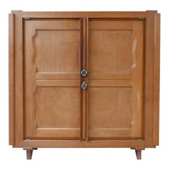 Guillerme et Chambron French Midcentury Cabinet