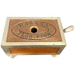 Habana Small Cigar Box Cutter 19th Century Original Paint Finish