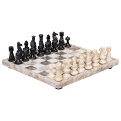 Hand Carved Marble Chess Set
