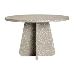 Handcrafted Outdoor Terrazzo Dining Table