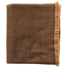 HAY Handloom  Throw / Blanket In Soft Merino Twill Weave
