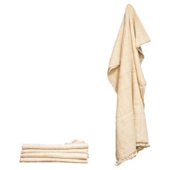 Handspun Wool Throw with Tassles by Monsoon