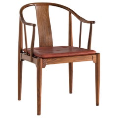 Hans J. Wegner Chinese Chair of Rosewood for Fritz Hansen