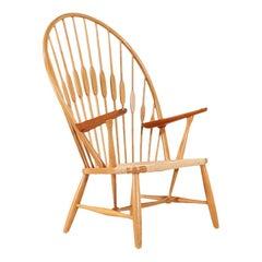 Hans J. Wegner JH-550 Peacock Chair for Johannes Hansen