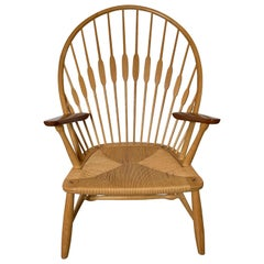 """Hans J. Wegner JH550 """"Peacock Chair"""" for Johannes Hansen"""