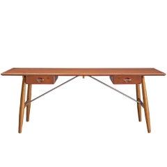 Hans J. Wegner Rare 'JH572' Architect's Desk, 1953