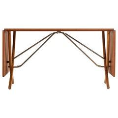 Hans Wegner Dining Table Model AT-304 Produced by Andreas Tuck in Denmark