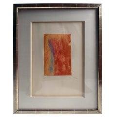 Helen Frankenthaler Color Etching