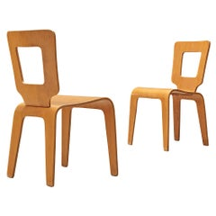 Herbert von Jordan Chairs in Plywood