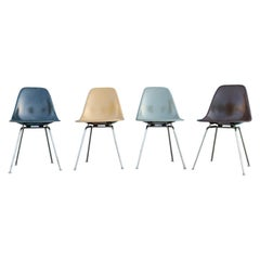 Herman Miller Eames Multicolored Dining Chair Set