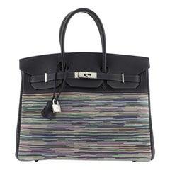 Hermes Birkin Handbag Vibrato and Togo 35