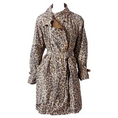 Hermès Leopard Pattern Belted Trench