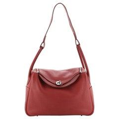 Hermes  Lindy Bag Clemence 34 For Sale