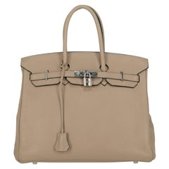 Hermes Woman Birkin 35 Grey