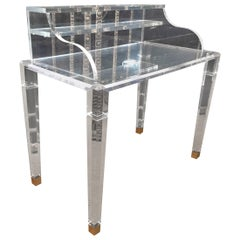 High Quality Acrylic Desk Stands on 4 High Legs