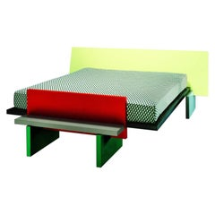 Horizon Double Bed, by Michele de Lucchi from Memphis Milano