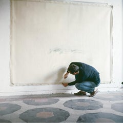 Cy Twombly in Rome 1966 - Untitled #15, Small Archival Pigment Print