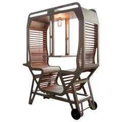 Il Treno / Two-Seat / Aluminium and Cedar Wood / Outside or Inside