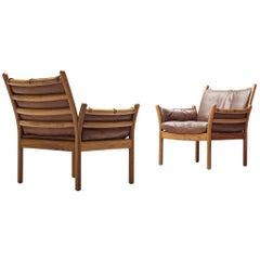 Illum Wikkelsø 'Genius' Chairs