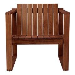 Indoor-Outdoor BK11 Lounge Chair in Teak Oil by Bodil Kjær