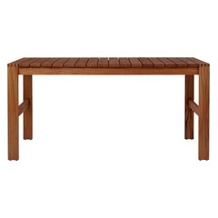 Indoor-Outdoor BK15 Dining Table in Teak Oil by Bodil Kjær