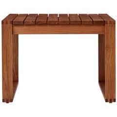 Indoor-Outdoor BK16 Side Table in Teak Oil by Bodil Kjær