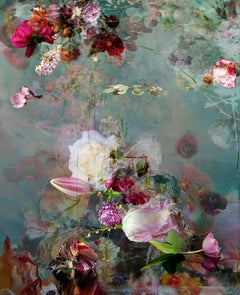 Sinking #1 - Floral still life contemporary photography