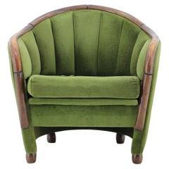 Italian Armchair in the Style of Gio Ponti, 1950s