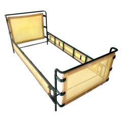 Jacques Adnet Leather Daybed