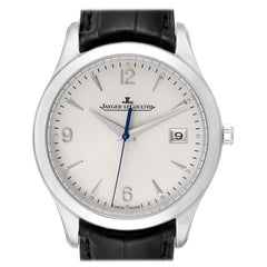 Jaeger Lecoultre Master Control Men's Watch 176.8.40.S Q1548420 Box Papers