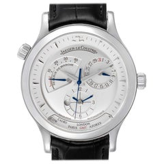 Jaeger-LeCoultre Master Geographic Watch 142.8.92.S Q1428420 Box Papers