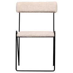 Janet Velvet and Wool Chair by ATRA