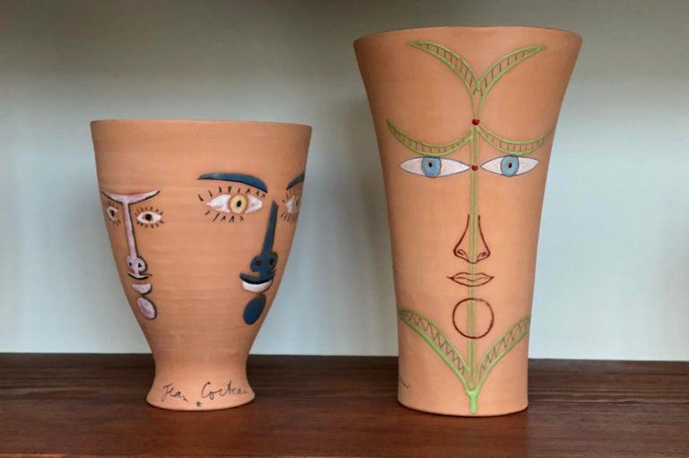 Jean Cocteau Original Edition Ceramic Vase