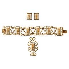 Jean Painlevé Rare Seahorse Jewelry Parure