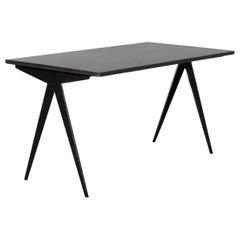 """Jean Prouvé, Cafétéria n°512 Table, a.k.a """"Compas"""" Table, circa 1950"""