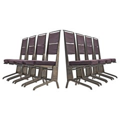 Jean Prouvé Rare Set of Reclining Chairs