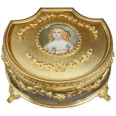 Jewelry Box with the Portrait of Madame de Sévigné
