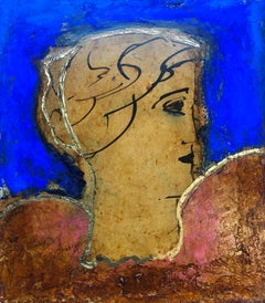 Classical Head: Contemporary Figurative Oil Painting by John Emanuel