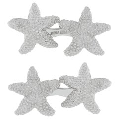 Jona Sterling Silver Starfish Cufflinks