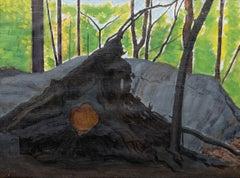 """Tree, Trunk, and Roots, New York"" Joseph Stella, American Modernism"