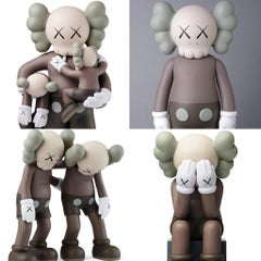 KAWS Brown Companions: set of 4 (KAWS Companion 2016-2019)