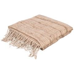 Khadi Handspun Silk/Cotton Throw by Monsoon