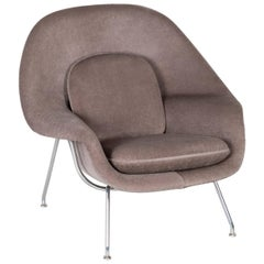 Knoll Medium Womb Chair Upholstered in Alpaca