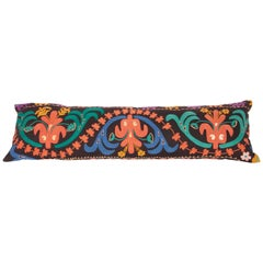 Kyrgyz Lumbar Pillow Case Fashioned from a Kyrgyz Tent Trapping Mid-20th Century