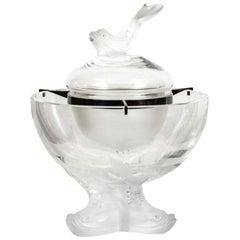 """Lalique Caviar Bowl """"Igor"""""""